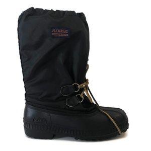 Sorel Women's Black Lined Snow Boots
